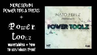 More Tips n Tricks Serum & PowerToolz WaveTables