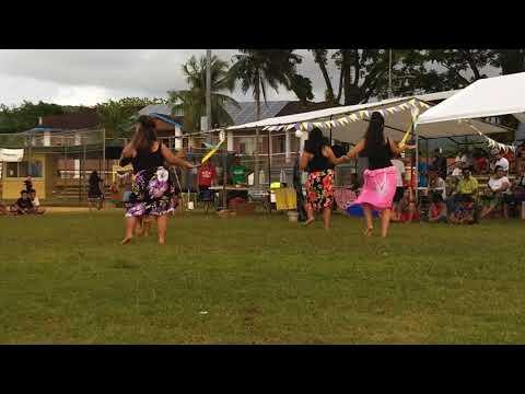 Kosrae Student Organization performs at Spanish Wall