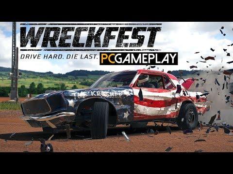 Wreckfest Gameplay (PC HD)