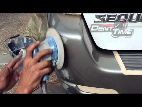 Auto Car Bumper Scratch Repair San Diego | Dent Time