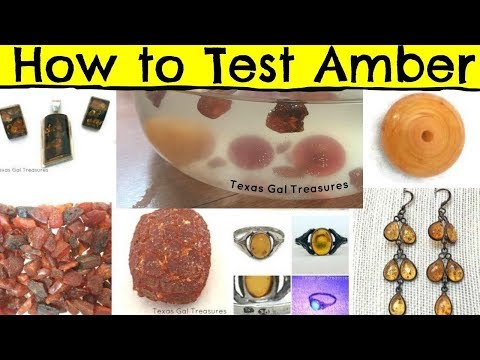 Testing Amber - How to Tell if Amber is Real, UV Light, Salt Water, Electrostatic, How to Test Amber