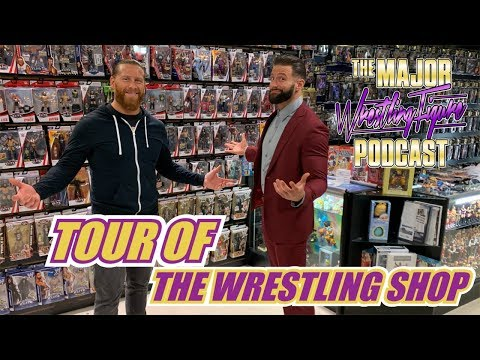 Tour of The Wrestling Shop (Shelton Benjamin)