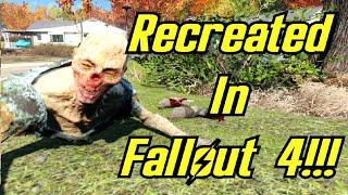 The Walking Dead Season 1 Trailer - Recreated in Fallout 4 (MODS!)