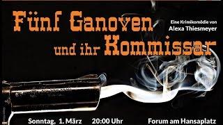 Eigen:Regie - Fünf Ganoven und ihr Komissar (Trailer)