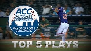 Top 5 Plays | 2014 ACC Baseball Championship