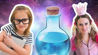 Алина и забавная  история про волшебство Откуда у Алины так много игрушек Аквабидс