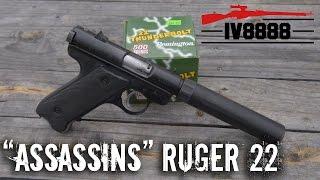 "Movie Guns: ""Assassins"" Ruger 22LR"