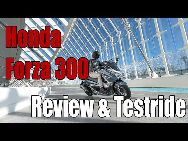 Honda Forza 300 (2018) Review and Testride