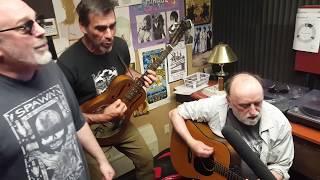 Ray Troll and the Ratfish Wranglers - Rockfish Barotrauma live on KFSK
