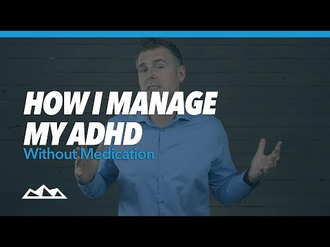 How I Manage My ADHD Without Medication
