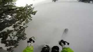Gopro 5 Skiing Mauricio Canyons Bowl Thumbnail