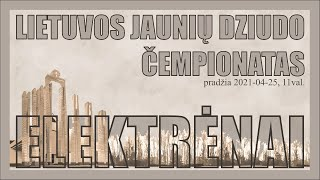 TATAMIS 1 - Lietuvos jaunių U18 dziudo čempionatas