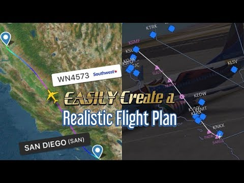 How to Easily Create a Realistic Route in Infinite Flight