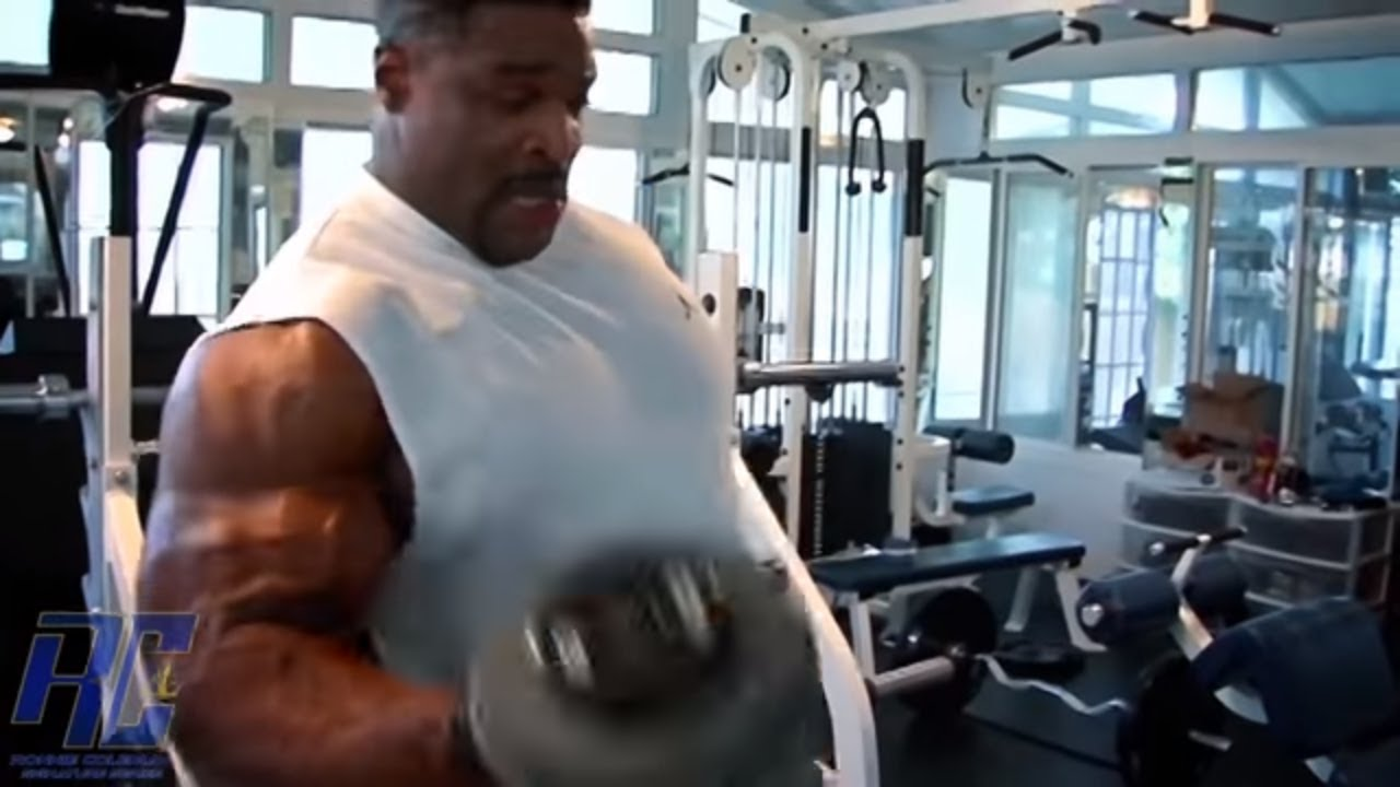 ronnie coleman 2007 mr olympia comeback part 2 biceps