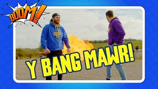 Y Bang Mawr | BOOM! | Big Bang Air Pressure Welsh Science fun!