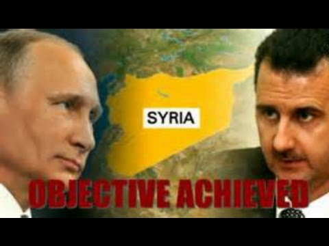 Breaking News March 2016 Putin orders start of Russian Military withdrawal from Syria