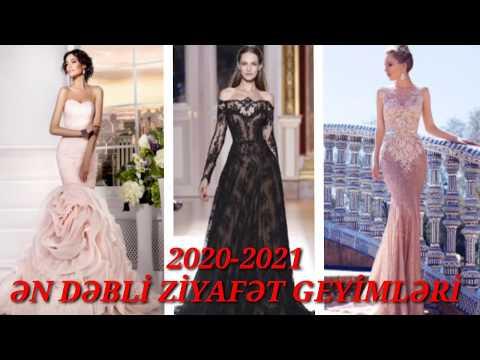 Ziyafət geyimləri modelləri.2020-2021.Toy paltarları