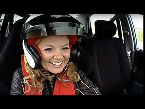 Geri Halliwell Interview and lap   Top Gear   BBC
