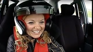 Geri Halliwell Interview and lap - Top Gear - BBC