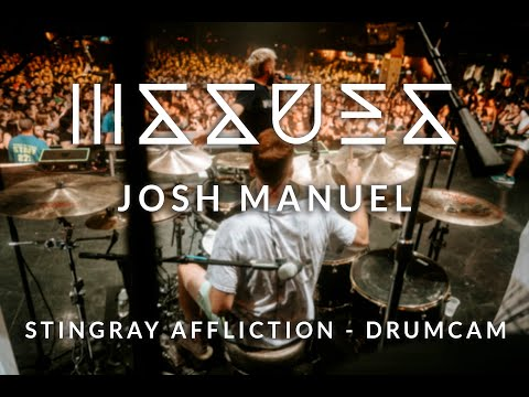 "SJC Custom Drums - Josh Manuel of ISSUES - ""Stingray Affliction"" Drum Cam"