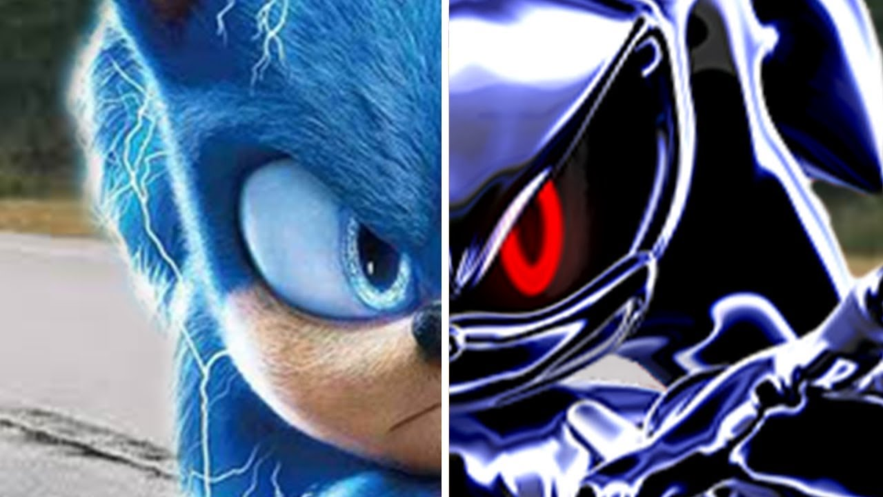 Sonic vs Metal Sonic Fake - Sonic The Hedgehog Movie Choose Your Favorite Design Characters