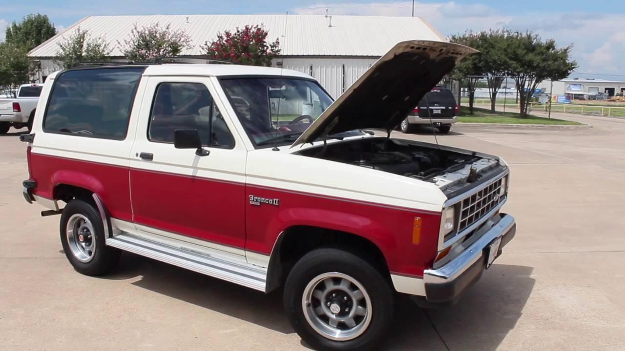1988 Ford Bronco II  YouTube