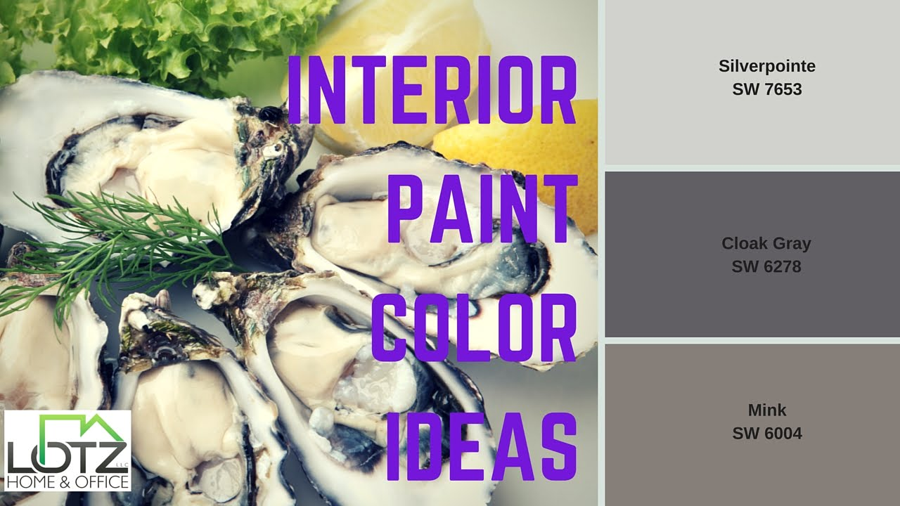 Interior Wall Paint Color Ideas Sherwin Williams Paint Choices Youtube