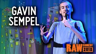 Gambar cover Gavin Sempel (VIC) - Runner Up, RAW Comedy National Grand Final 2018