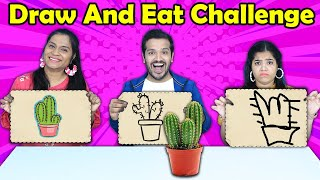 Draw And Eat Challenge | Hungry Birds