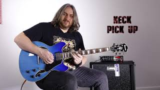 first look!!! 2019 IBANEZ AS73FM AZG