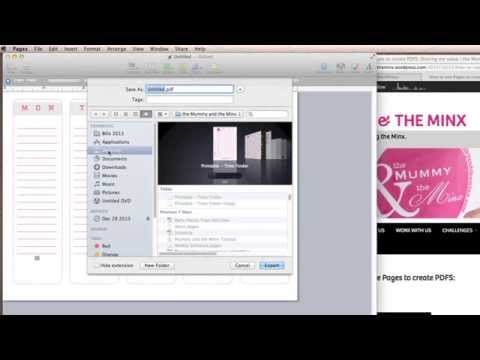Using Pages to create beautiful PDF documents
