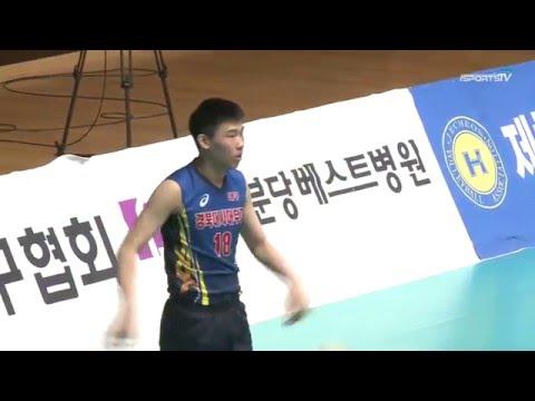 2016 Spring Season Korea High school Volleyball Tournament - Final match 2set