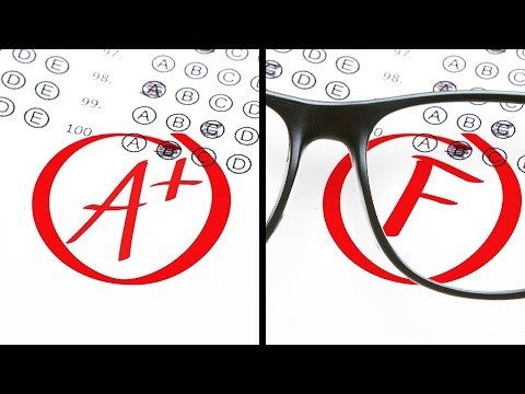 Cheat Tricks You Should Never Use At School!