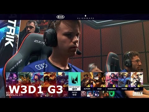 Schalke 04 Vs Origen | Week 3 Day 1 S9 LEC Summer 2019 | S04 Vs OG W3D1