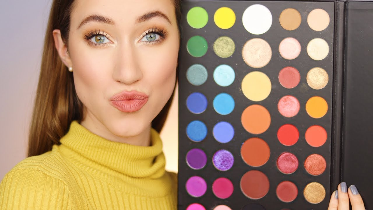 Easy Everyday James Charles Palette Tutorial Youtube