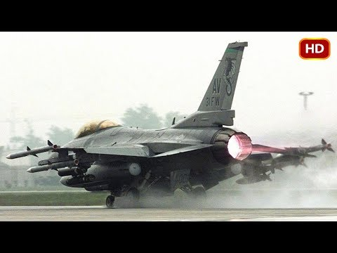 Extremely Powerful F-16 Fighting Falcon Shows Its Crazy Ability