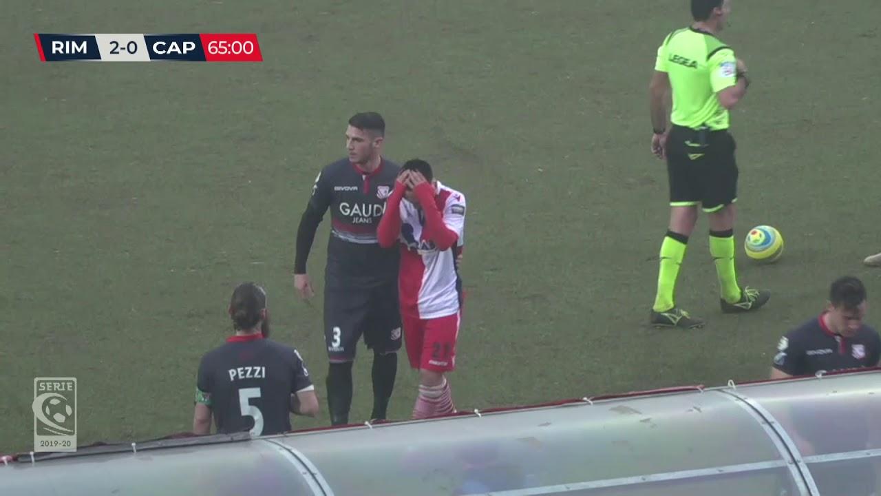 Rimini-Carpi 2-2: gli highlights