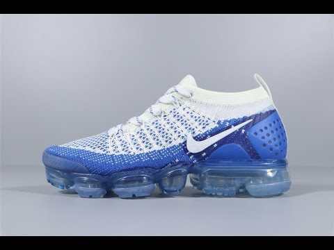 uk availability fbe4c 6e895 Nike Air Vapormax Flyknit 2.0 Blue White Sport Shoes FROM Robert