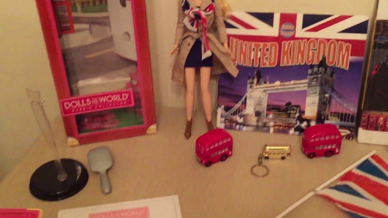dc02b082b067c Barbie Dolls of the World United Kingdom - YouTube