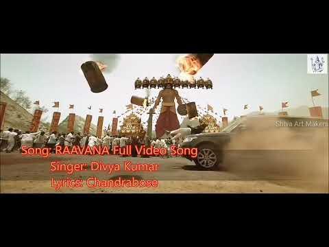 Jr ntr raavana full video song