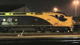 Quad CLP/CLF lashup departing Dynon - Long Australian Freight Train - PoathTV