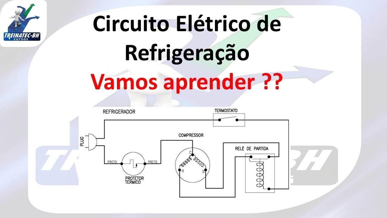 Circuito Eletricos : Circuito elétrico de refrigeradores youtube