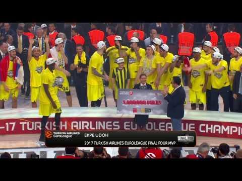 Ekpe Udoh announced as Final Four MVP