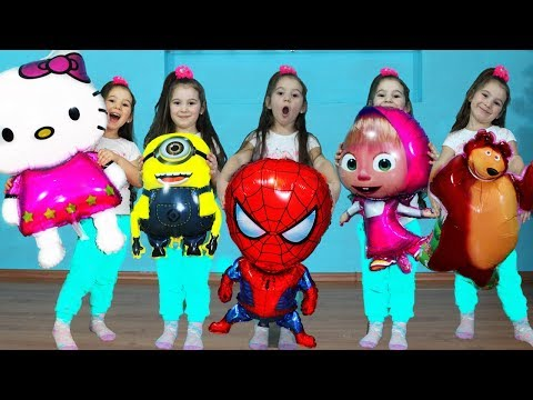 Five Little Babies Jumping On The Bed, Five little monkeys song Songs for children