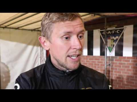 CaleyJagsTV : Richie Foran Match Reaction v Dunfermline : Betfred Cup : 26/07/16