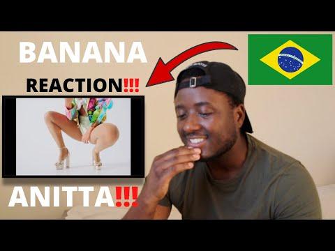 Anitta With Becky G - Banana (Official Music Video) BRAZILIAN MUSIC REACTION!!!