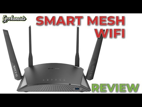 D-Link EXO AC2600 Smart Mesh Wi-Fi Router Review