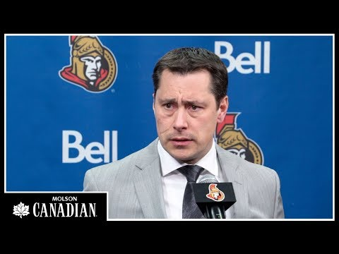 Sens vs. Flames - Boucher postgame