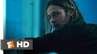 World War Z (8/10) Movie CLIP - Lab Attack (2013) HD