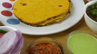 Makki ki Roti and saag - Punjabi cuisine consumed during the winter season in India